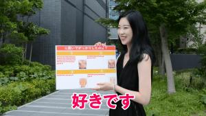 お腹痩せ【FIRAマッスルサプリ】街頭インタビュー16