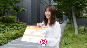 お腹痩せ【FIRAマッスルサプリ】街頭インタビュー19