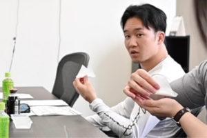 マーチンアップ HMB 朝倉未来 打合せ3